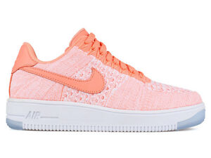 more photos baf9f 6dbb5 Details about NIKE 820256-600 W AIR FORCE 1 FLYKNIT LOW