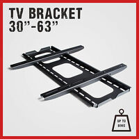 Tv Wall Mount Bracket Led Lcd Plasma Flat 30 32 37 42 46 50 52 55 60 62 63 Inch