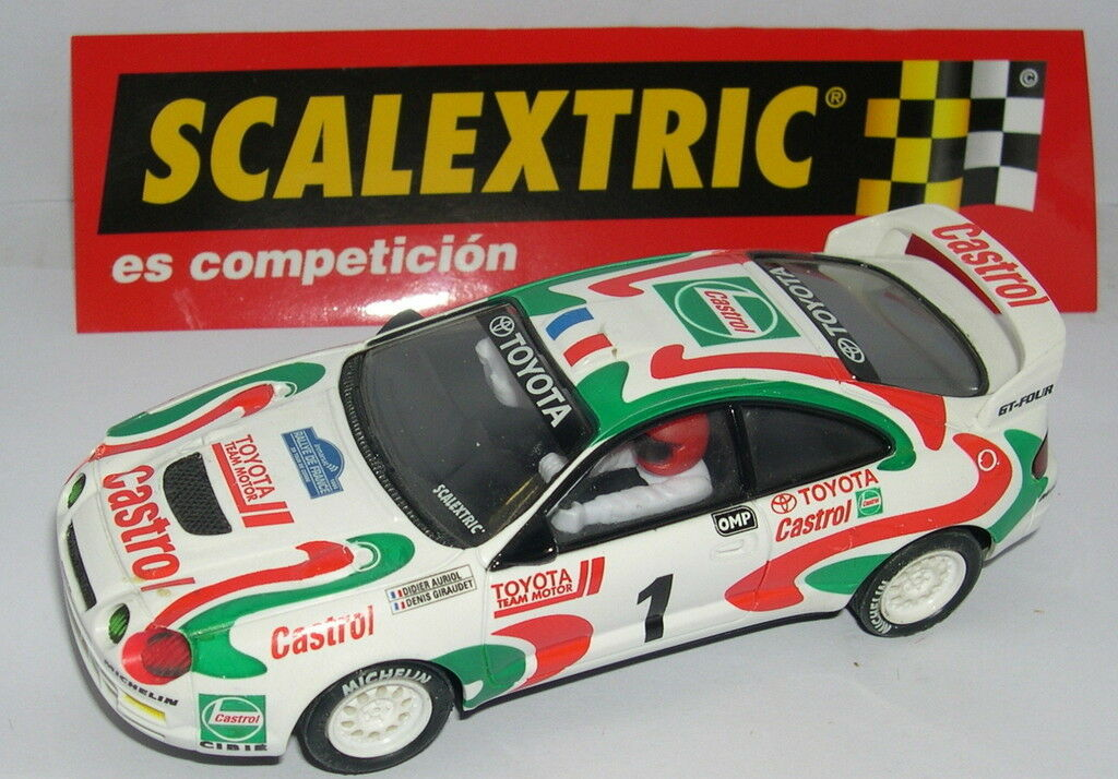 SCALEXTRIC SPAIN ALTAYA RALLY MYTHICAL TOYOTA CELICA GT FOUR RALLY CORSICA 1995