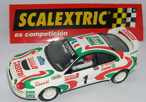 Scalextric Espagne Altaya Rally Mythiques Toyota Celica Gt Four Corse 1995