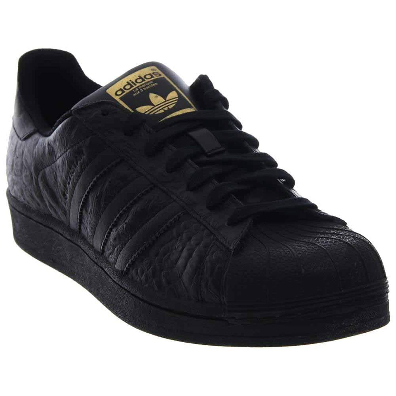 Adidas männer / superstar mode turnschuhe (core / männer core schwarz / schwarz - gold) f3e765