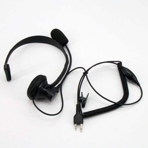 For Midland Radio Over Head Headset/Earpiece Boom Mic VOX GXT250 GXT255 GXT300
