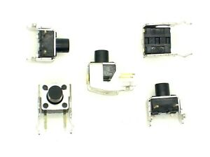 5x-Mikro-Eingabetaster-stehend-12V-50mA-ca-10x8x8mm-Taster-Nr-6
