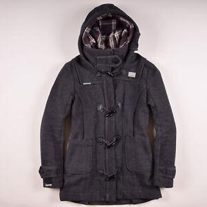 33f7d03b0b45dc Superdry Damen Mantel Jacke Coat Jacket Gr.S (DE 36) Double Duffel ...