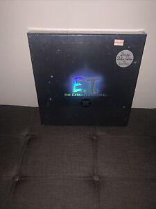SEALED RARE E.T.  Limited Edition Signature Collector's Box Set 4573/5000