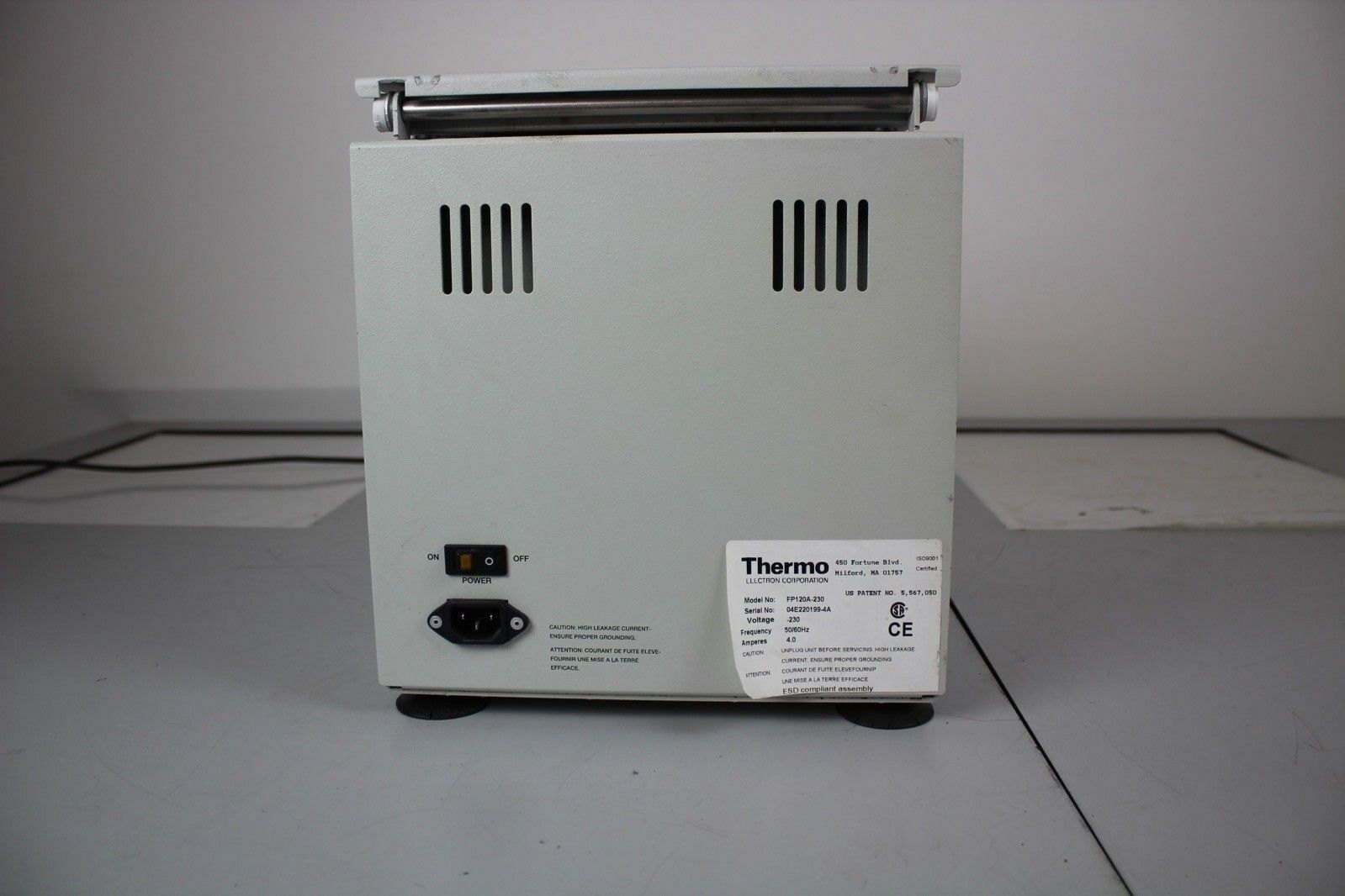 Used Thermo FastPrep FP120 Cell Disrupter (Homogenizer & Isolation