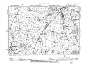 Wickwar-Rangeworthy-Old-Map-Gloucestershire-1903-64SW