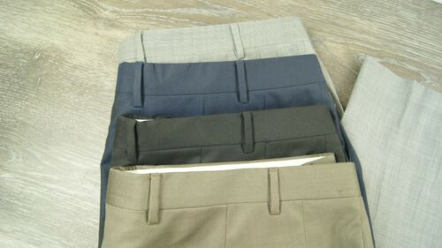 LOT 4 CANALI Mens Wool Dress Pants 40 x 31 Black B