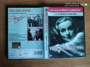 Dvd  VOGLIAMO VIVERE di Ernst Lubitsch con Carole Lombard  COME NUOVO!!!