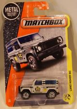 Matchbox 2017 MBX #48/125 - Land Rover 90 Silver NEW!! QUANTITY