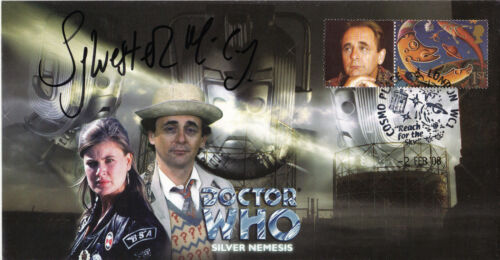 "Dr Who ""Silver Nemesis"" Episode Signed by SYLVESTER McCOY"