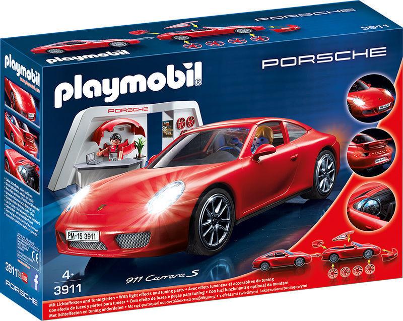 PLAYMOBIL® 3911 Porsche Carrera S mit Lichtmodul neu ovp