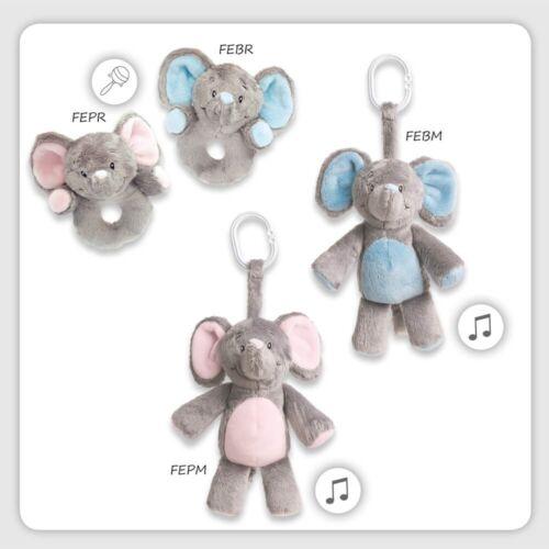 grau zum Hängen mit Musik 19 My Teddy My Newborn Spieluhr Elefant rosa pink