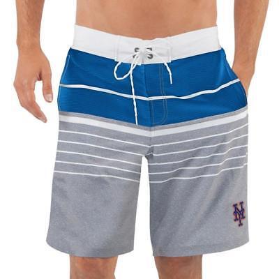 Weitere Ballsportarten Unparteiisch Neu Lizenziert Mlb New York Mets Shorts Badehose Grau Größe 2xl __ S116