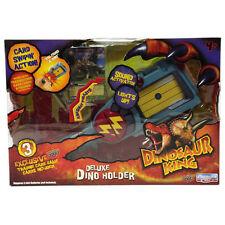 DINOSAUR KING DELUXE DINO HOLDER SWIPER LIGHTS + SOUNDS CARD GAME TOY