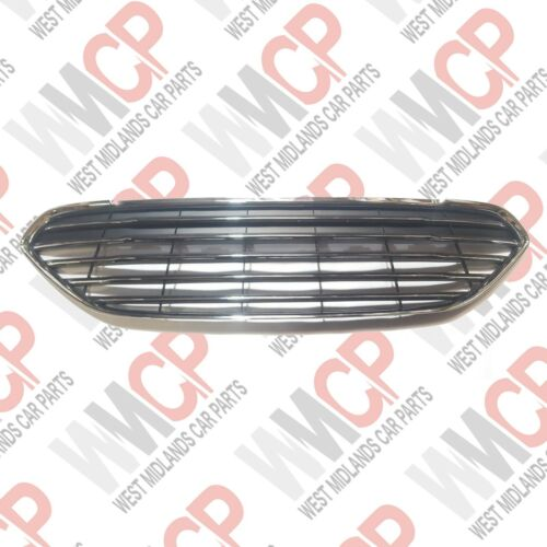 Ford Fiesta 2013-ON Front Upper Calandre Pare-choc avec chrome