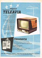 PUBLICITE ADVERTISING 0314   1956   FRIGEAVIA TELEAVIA téléviseur réfrigérateur2