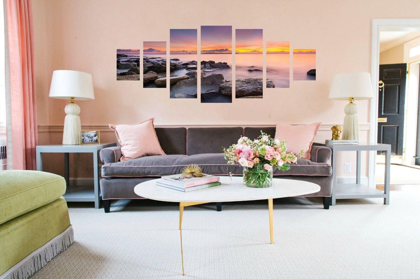 3D Sunrise Coastal 576 Unframed Print Wall Paper Decal Wall Deco Indoor AJ Wall