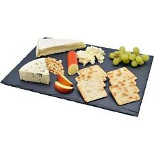 Natural Slate Cheese Board Chopping Cutting Serving Tray Dining Plate Platter