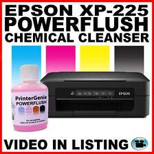 Epson xp-225: cabeza Kit De Limpieza-Boquilla Limpiador: Cabezal De Impresión Desatascador