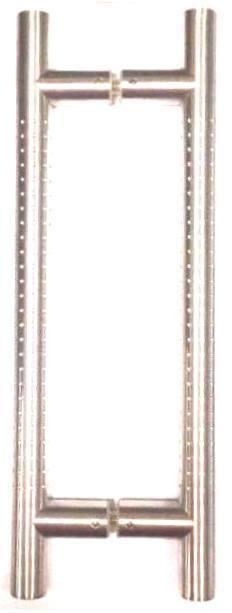 Coppia Maniglioni Tropex Acciaio Inox Satinato con puntini HD25 stile Moderno
