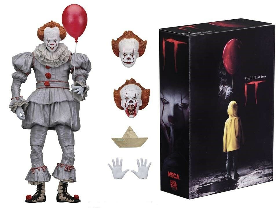 Action - figur ultimative pennywise stephen king ist es 2017 film 18 cm neca