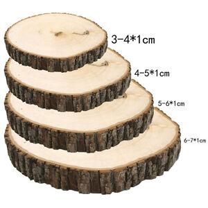 50-Pcs-Rustic-Wedding-Wood-Tree-Slices-DIY-Decor-Disc-Pine-Tree-Log-Round-G-K0I5