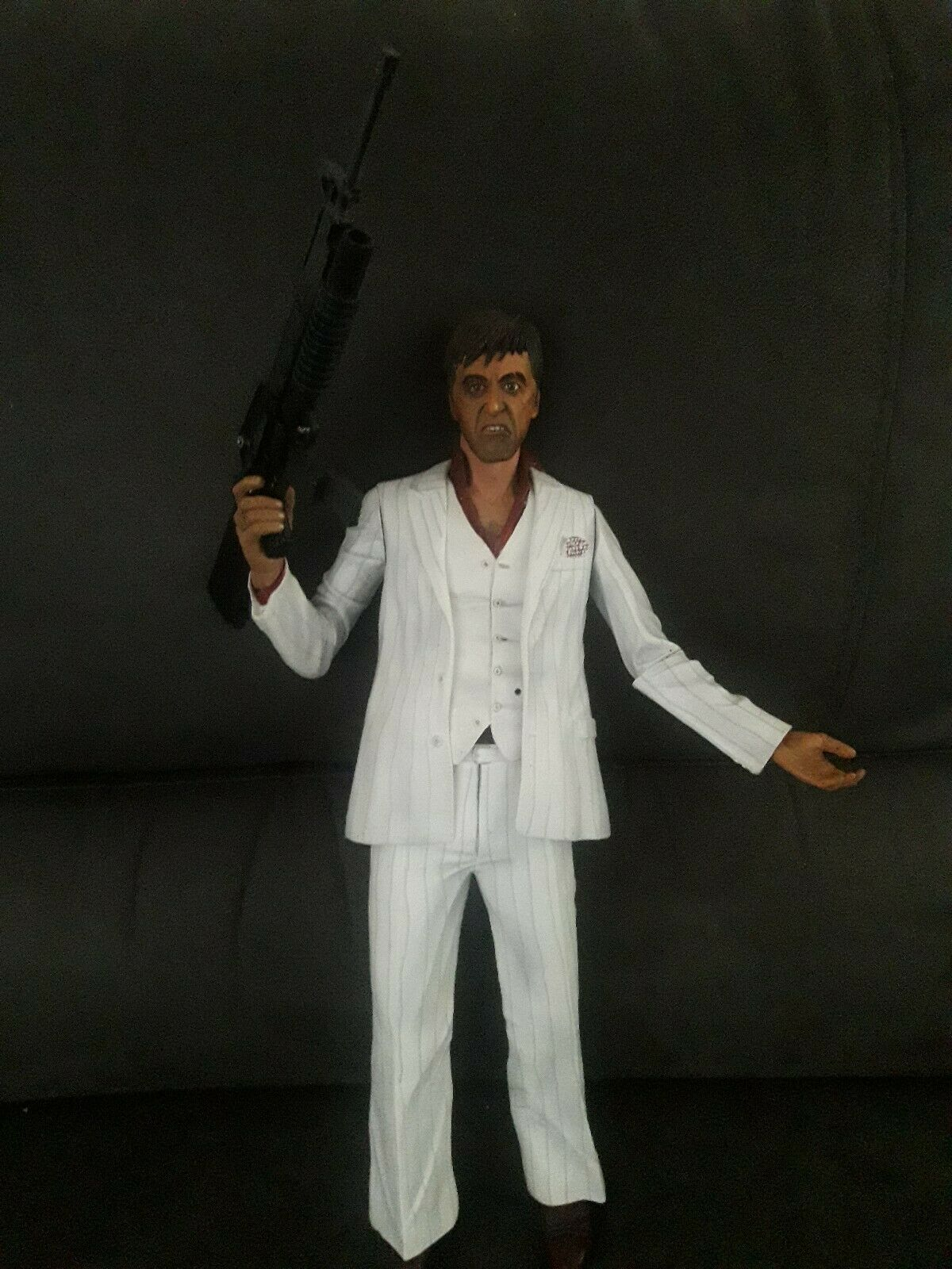 NECA ScarFace 18  Figure Motion Activated Sound No Packaging