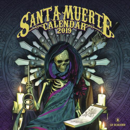 Calendar //Calendario Santa Muerte 2019 Lo Scarabeo