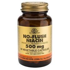 Solgar No Flush Niacin 500mg 50 Vegicaps