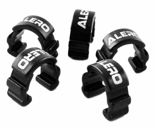 Alero CC-122 AL6061 T6 Mountain Road Bike  Cable C Clamps Housing Clips 5pcs