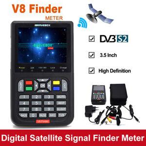iBRAVEBOX-V8-LCD-Digital-Satellite-Signal-Finder-DVB-S2-1080P-HD-Detector-Meter