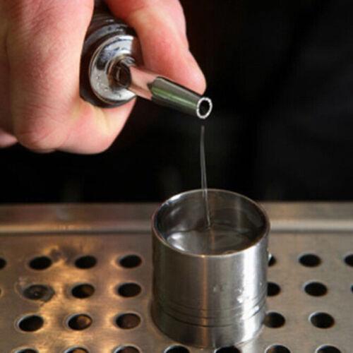 4 x acier inoxydable vin Pourers bouteille bouchons Becs Verseurs Liqueur Bar débit d/'huile NOUVEAU