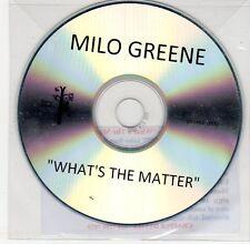 (EG480) Milo Greene, What's The Matter - DJ CD