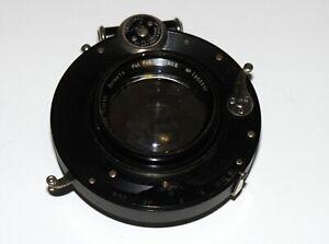RARE-BAUSCH-amp-LOMB-ZEISS-TESSAR-SERIES-1C-F4-5-5x7-034-lens-COMPOUND-SHUTTER-EXC