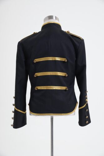 My Chemical Romance Military Parade Poison Coat Jacket Costume Gold S-3XL