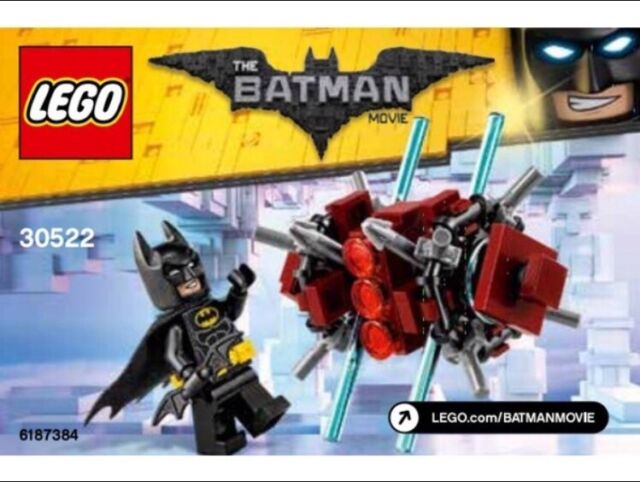 Lego BATMAN IN THE PHANTOM ZONE Polybag 30522 Christmas Stocking Filler Figure