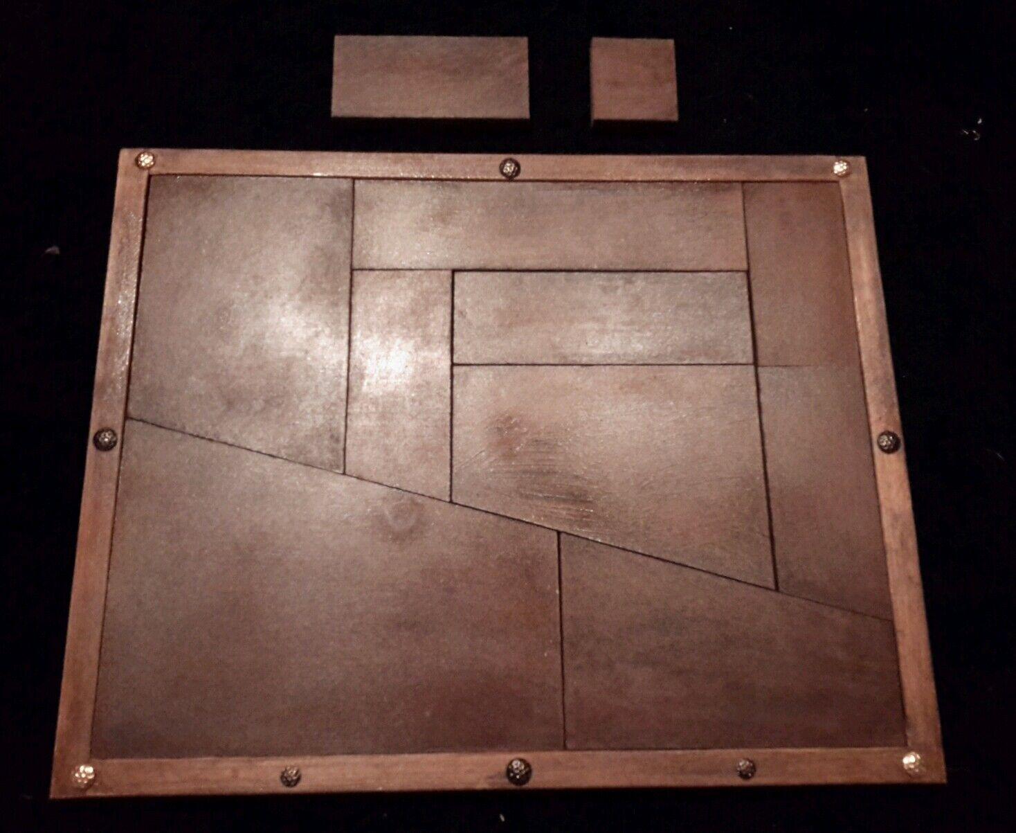 Mittelalter Antik Magic, Puzzel, Puzzle Straßenzauberei' ändert nie die Größe.