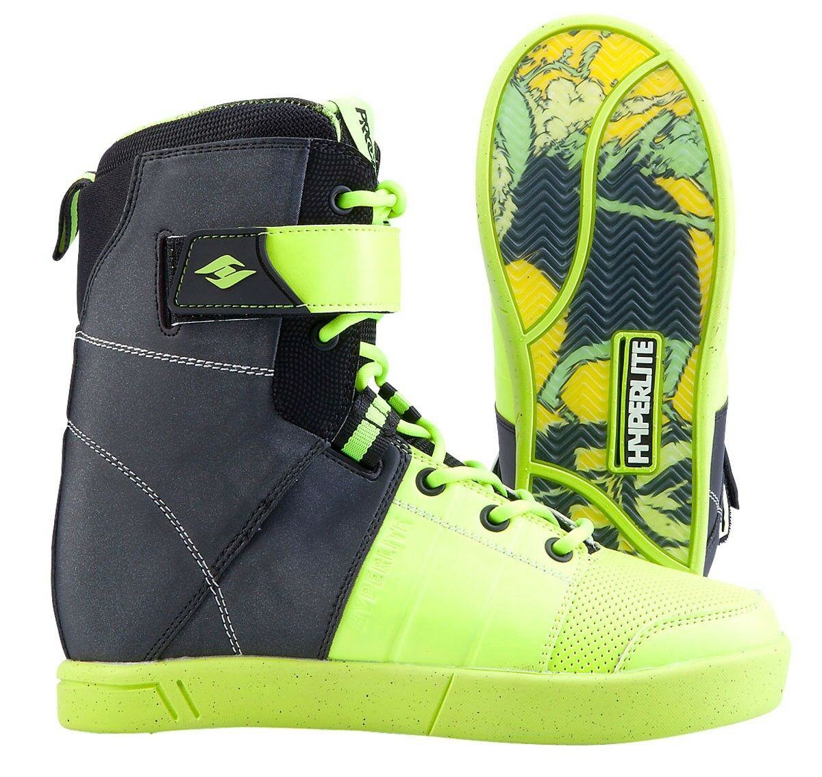 HYPERLITE PROCESS WAKE BOOTS – COLOR  BLK GRN – SIZE  7 – NEW