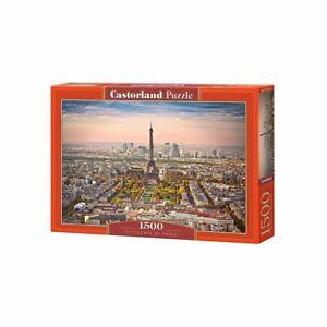 Castorland CastC-151837-2 Cityscape of Paris Puzzle 1500