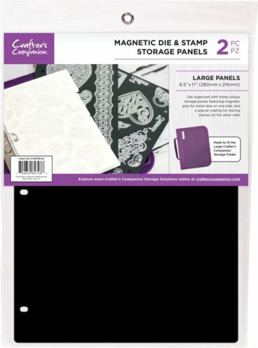 """Crafter/'s Companion 8.5/""""X11/"""" Magnetic Storage Panels 2//Pkg-Large CCMAGSTL"""