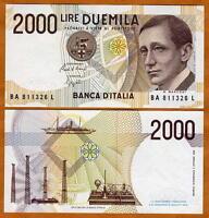 Italy, 2000, ND (1990-1994 issue), last pre-Euro, Pick 115, UNC   Marconi