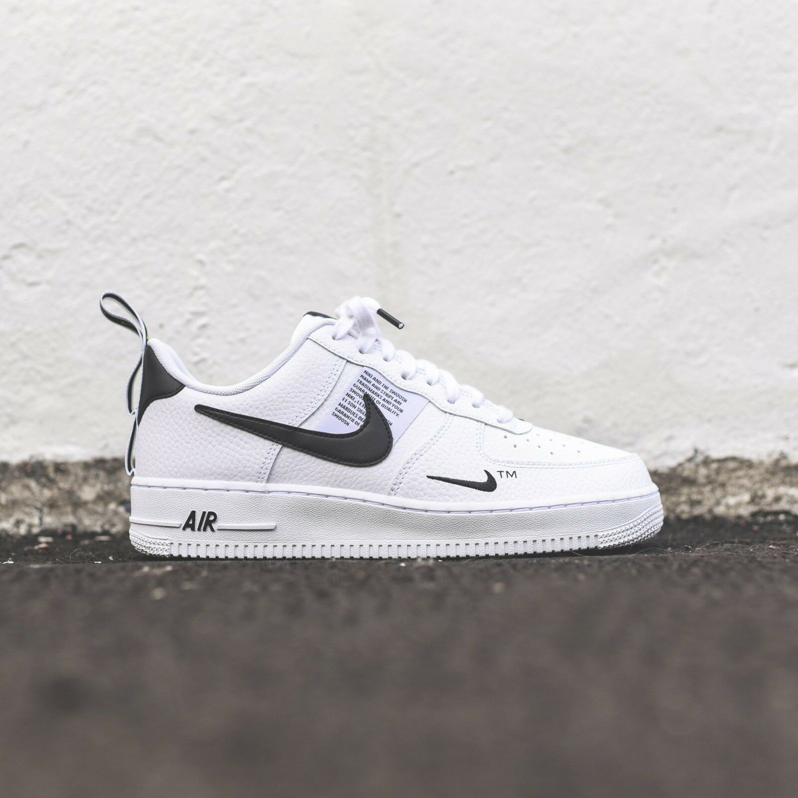 buy online 851f1 d3560 NIKEAIR FORCE 1 ONE UTILITY LOW UK US 7 8 8.5 9 10 11 12 WHITE 07 LV8 ALL  SIZES