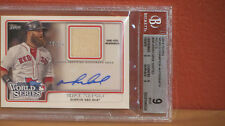 2014 Topps Mike Napoli World Series Champion Autograph Relic Card BGS 9 Auto 10