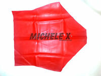 Red Latex Rubber Female High Waisted Pants (english) S M L Xl