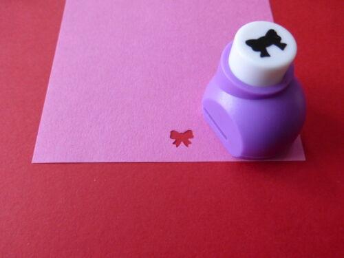 Motivlocher Motivstanzer  Schleife ca 8mm  Kartengestaltung  Basteln