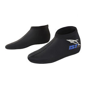IST SK1J 3mm Nylon II Super Stretch Neoprene Low Cut Kids Dive Socks