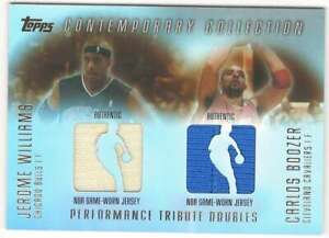 CARLOS-BOOZER-JEROME-WILLIAMS-2003-04-Topps-Contemporary-Collection-250-ID-7161