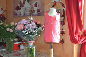 tee-shirt-repetto-neuf-rose-sorbet-debardeur-4-ans-les-pointes