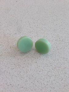 Emerald-Green-Submarine-Aqua-Green-Round-Circle-Resin-Stud-Earrings